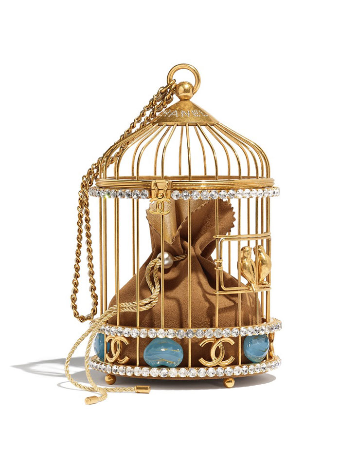 Chanel gold Cage