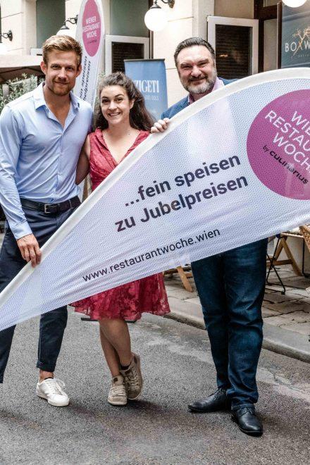VIPs geben Startschuss für die 22. Wiener Restaurantwoche