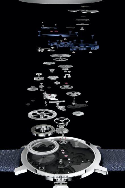 Die flachste Uhr der Welt