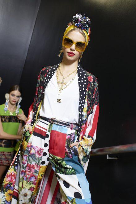 Der Sommer wird bunt bei Dolce & Gabbana