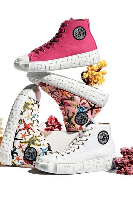 VERSACE: Greca Sneaker