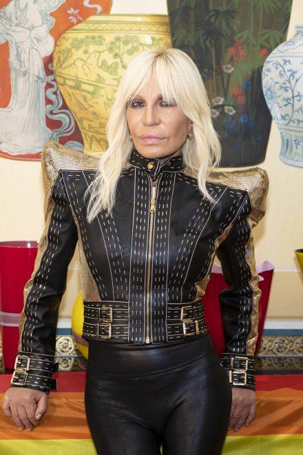 Versace feiert 10-jähriges Jubiläum von Lady Gaga Album