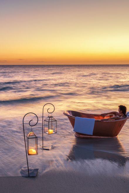 Hier baden Urlauber wie die Könige