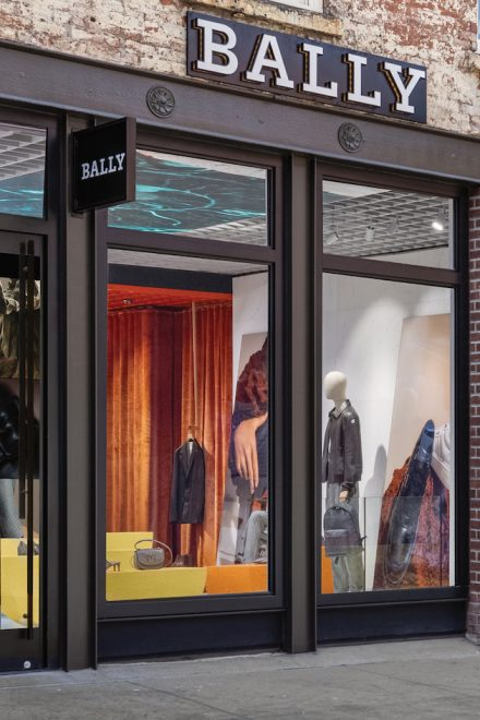Bally Flagship Store in Manhattans Meatpacking District