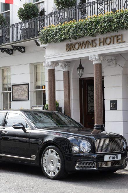 Leben wie die Royals im Browns Hotel London