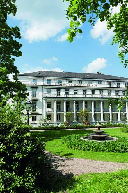 Top Luxus-Hotel in Baden-Baden:  Badischer Hof